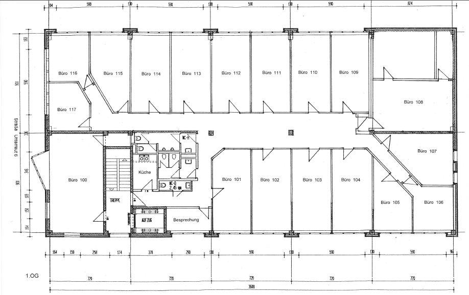 Attraktive Büroräume in variabler Größe in Karlsruhe | {Teeküche büro grundriss 15}